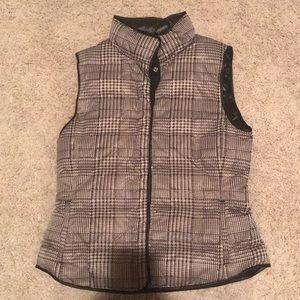 Plaid Puffy Vest